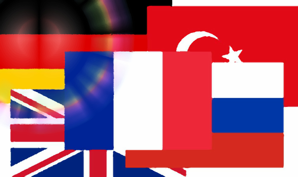 Flaggen Sprachen bearb